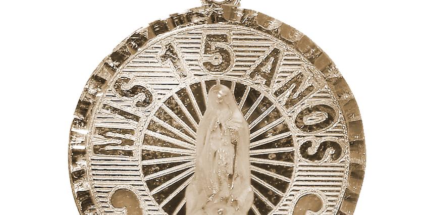 14K Coin 15 Pendant