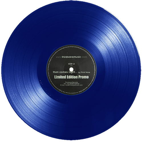 """Then Comes Night - ThirdWave [Signed Limited Edition Blue 12"""" Vinyl TWM001]"""