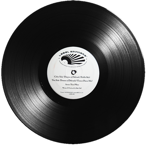 "Dreams of Dalriada - Thirdwave (Signed 12"" Vinyl White Label Promo) [LSPIN003]"