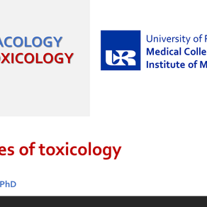 ED Toxicology lecture 1