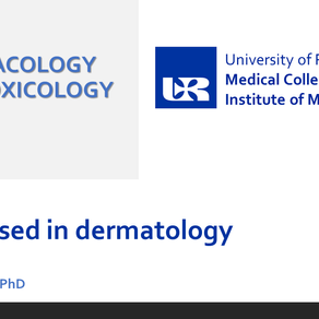 ED lecture: Drugs in dermatology