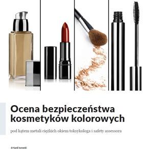 Ocena bezpieczeństwa kosmetyków kolorowych pod kątem metali ciężkich