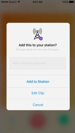 Anchor: Pop-up Screen