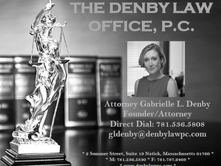 National Academy of Jurisprudence awards Attorney Gabrielle L. Denby the designation of Premier 100