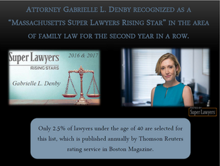"Attorney Gabrielle L. Denby recognized as a ""Massachusetts Super Lawyers Rising Star"" in the area of"