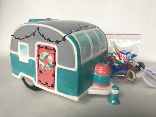 Lighted Camper Pottery To Go Kit