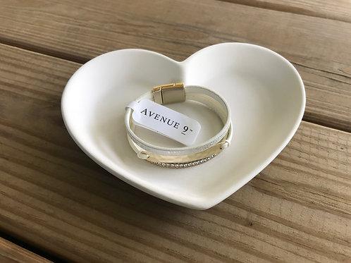 Heart Dish Pottery To Go Kit