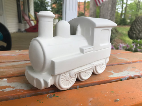 Waxhaw Train Bank Pottery To Go Kit