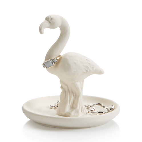 Flamingo Ring Holder Pottery To Go Kit