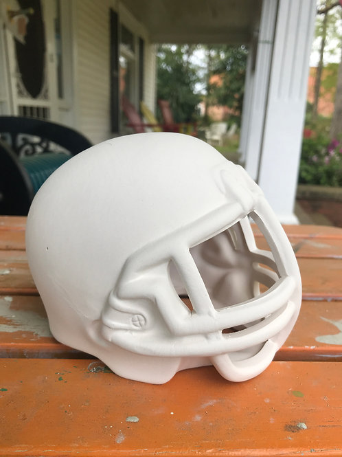 Football Helment Pottery To Go Kit