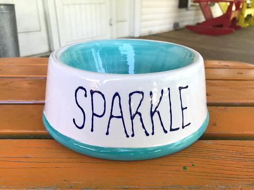 Round Pet Bowl Pottery To Go Kit