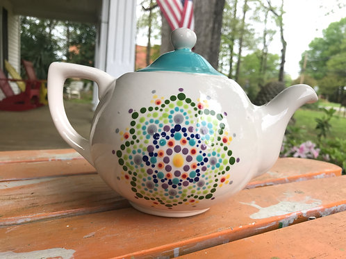 English Teapot Pottery To Go Kit