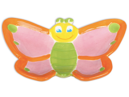 Butterfly Dish Pottery To Go Kit