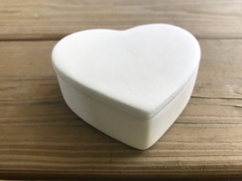 Large Heart Box Pottery To Go Kit