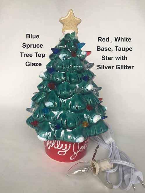 Christmas Tree (9 Inch) Pottery To Go Kit