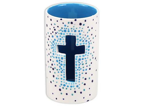 Cross Votive Pottery To Go Kit