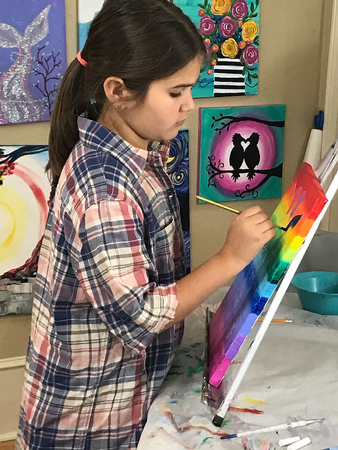 Kylie Canvas Painting Summer Camp.JPG