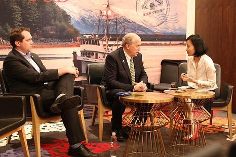 Governor Bill Walker of Alaska China Trade Mission