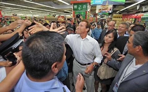 Governor Arnold Schwarzenegger Trade Mission