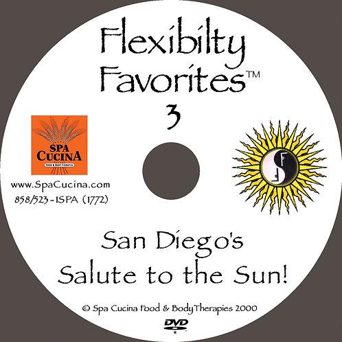 DVD: Flexibility Favorites 3: San Diego's Salute to the Sun