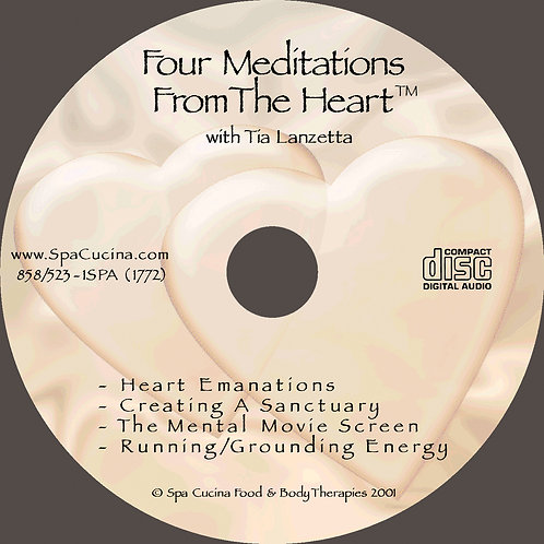 Four Meditations from the Heart, 60-min CD