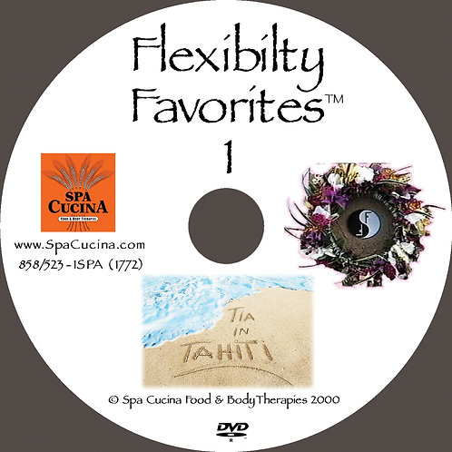 DVD: Flexibility Favorites: Tia in Tahiti!