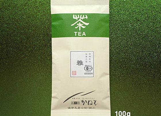さっぱりとした甘みの玉露「雅」(100g)