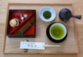 くるみ最中+栗羊羹+寧茶.jpg