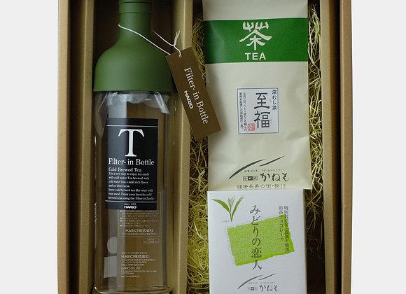 ボトル・茶草場のお茶・煎茶チョコレート詰め合わせ