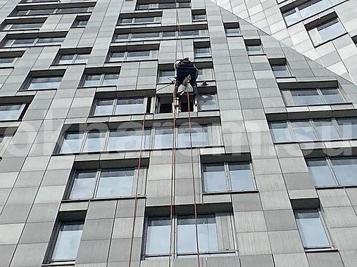 Мосфильмовская 8 Замена стемалитов альпинистами