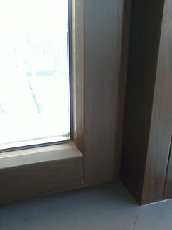 ОкнаРем. Установка, замена уплотнителя в дерево-алюминиевом окне