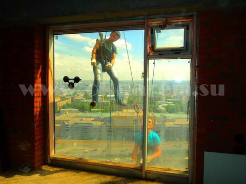 Замена стеклопакета в ЖК Дубровская Слобода