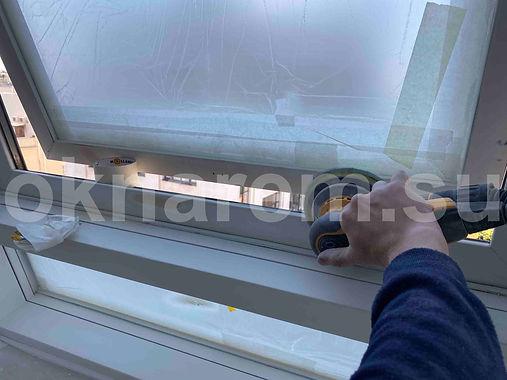 Зачистка окон для покраски.JPG