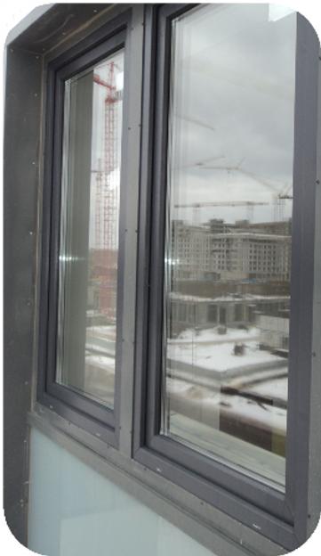 окно без москитной сетки