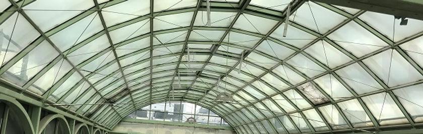 Герметизация, защита от протечек световых куполов