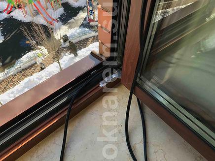 Замена уплотнителя в окнах шуко. ОкнаРем Примеры работ