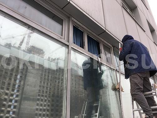 Окна в глухой стеклопакет фасада.JPG