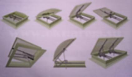 Электро-приводы автоматических систем дымоудаления и вентиляции для люковых окон