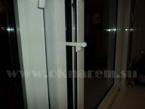 Ограничитель для проветривания на алюминиевые окна