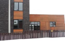 Замена алюминиевых дверей в коттеджном поселке Монаково