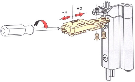 Регулировка поворотно-откидных алюминиевых окон