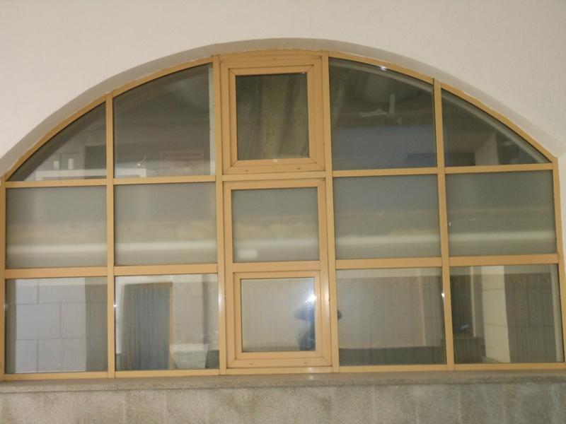 Установка окон в фасад  ж.к