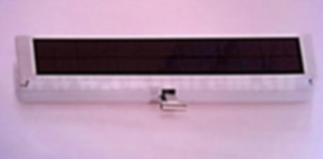 Привод автоматического открывания окон на солнечной батарее