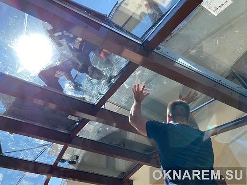 Замена стеклопакетов зимнего сада.JPG