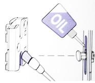 Смазка механизмов фурнитуры окон, дверей