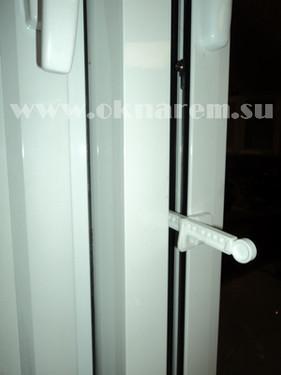 Ограничитель проветривания на алюминиевое окно