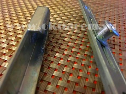 Антивандальная фурнитура на деревянные окна