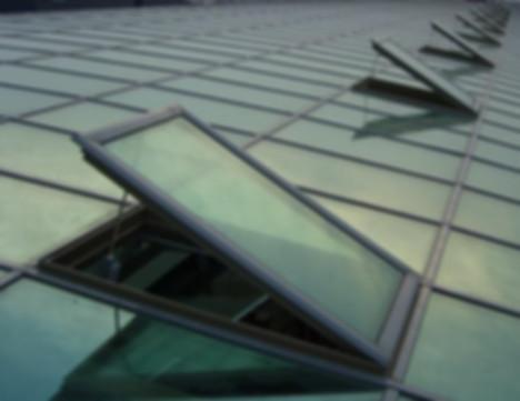 Окна для проветривания  и систем дымоудаления