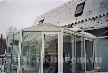 ОкнаРем. Зимние Сады - террасы - остекление стеклопакетами с подогревом стекол