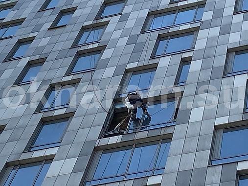 Замена стеклопакетов Мосфильмовская 8